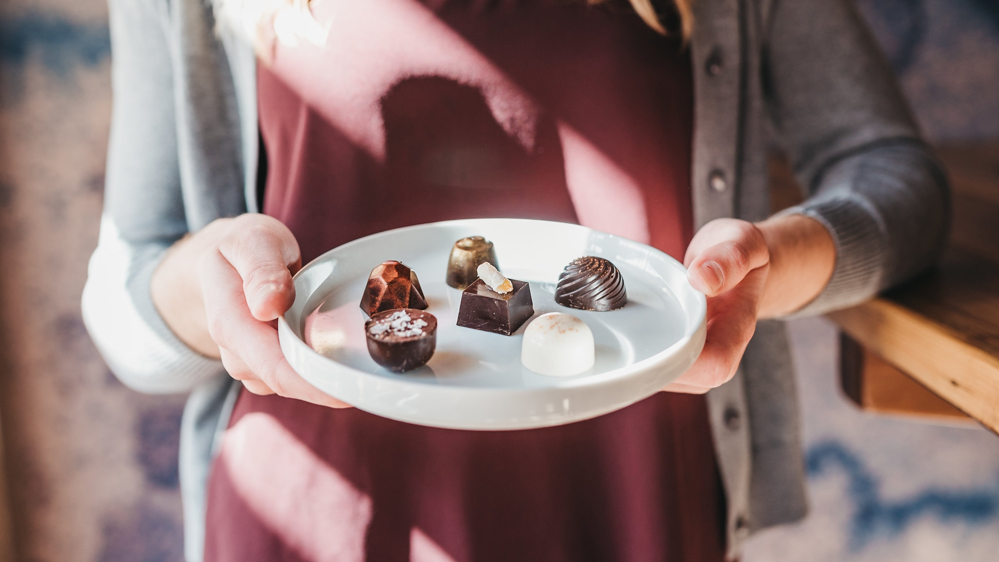 Their chocolates are masterfully made. Courtesy photo
