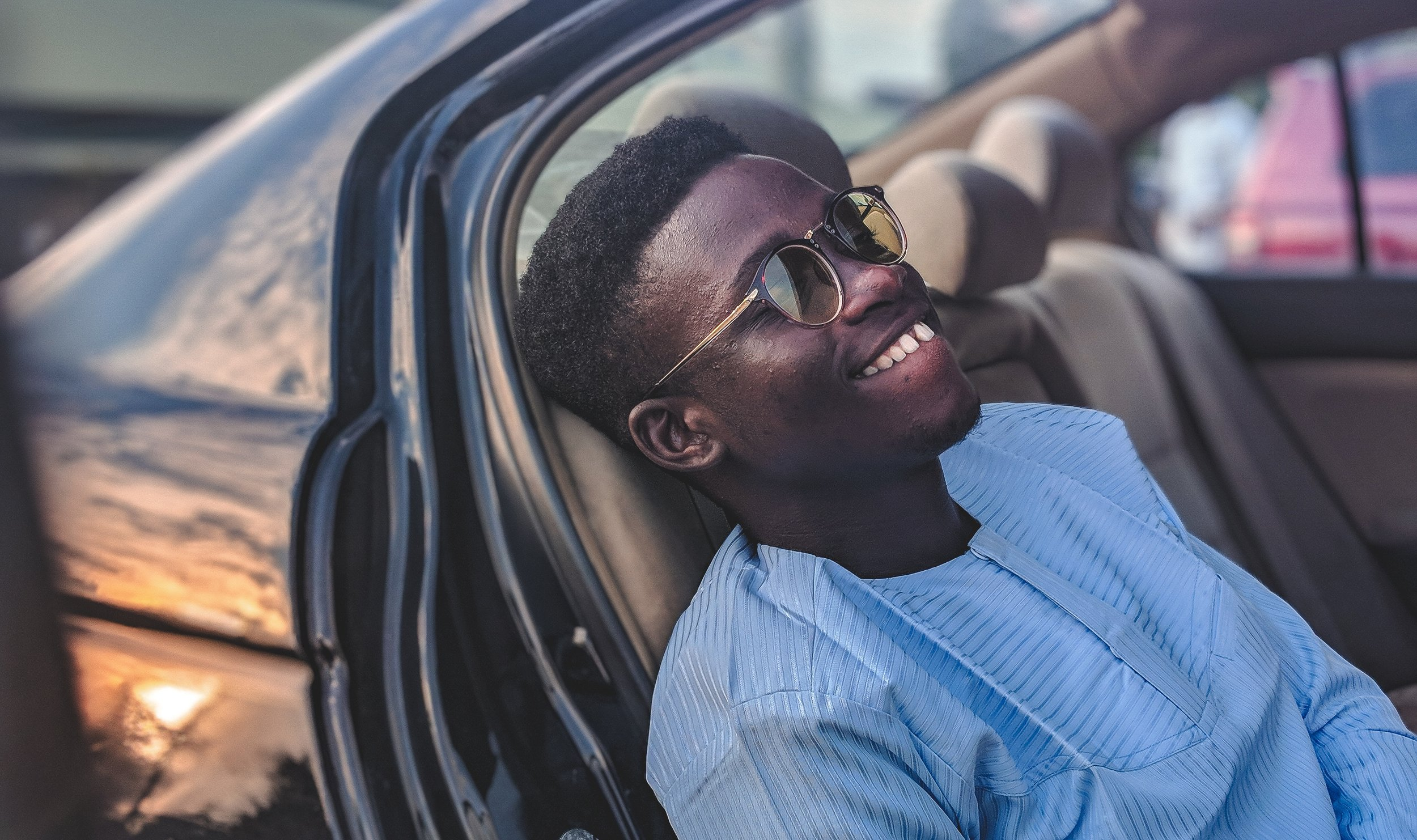 The best tip you can get is to be the best version of you possible. Photo by Joshua Oluwagbemiga