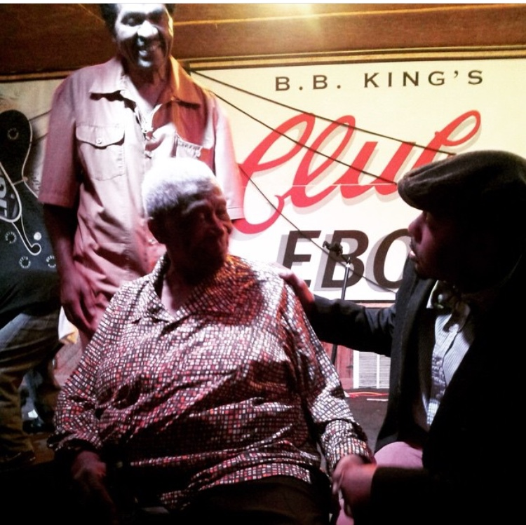 IBEYB meeting B.B. King. Courtesy photo