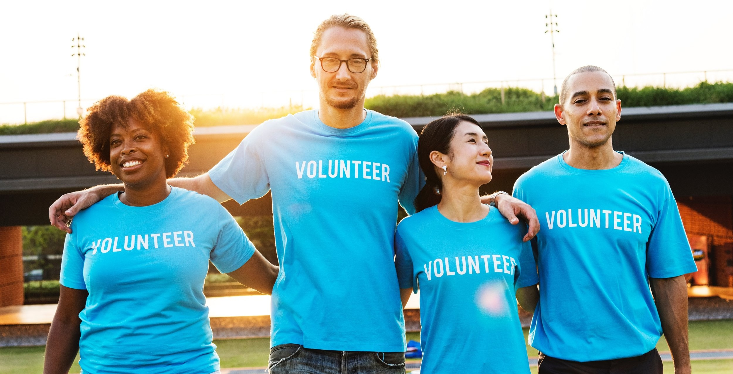 Not all self-care is about the self. One of the most fulfilling things we can do is volunteer with a local non-profit to improve the lives of those less fortunate. Courtesy photo.