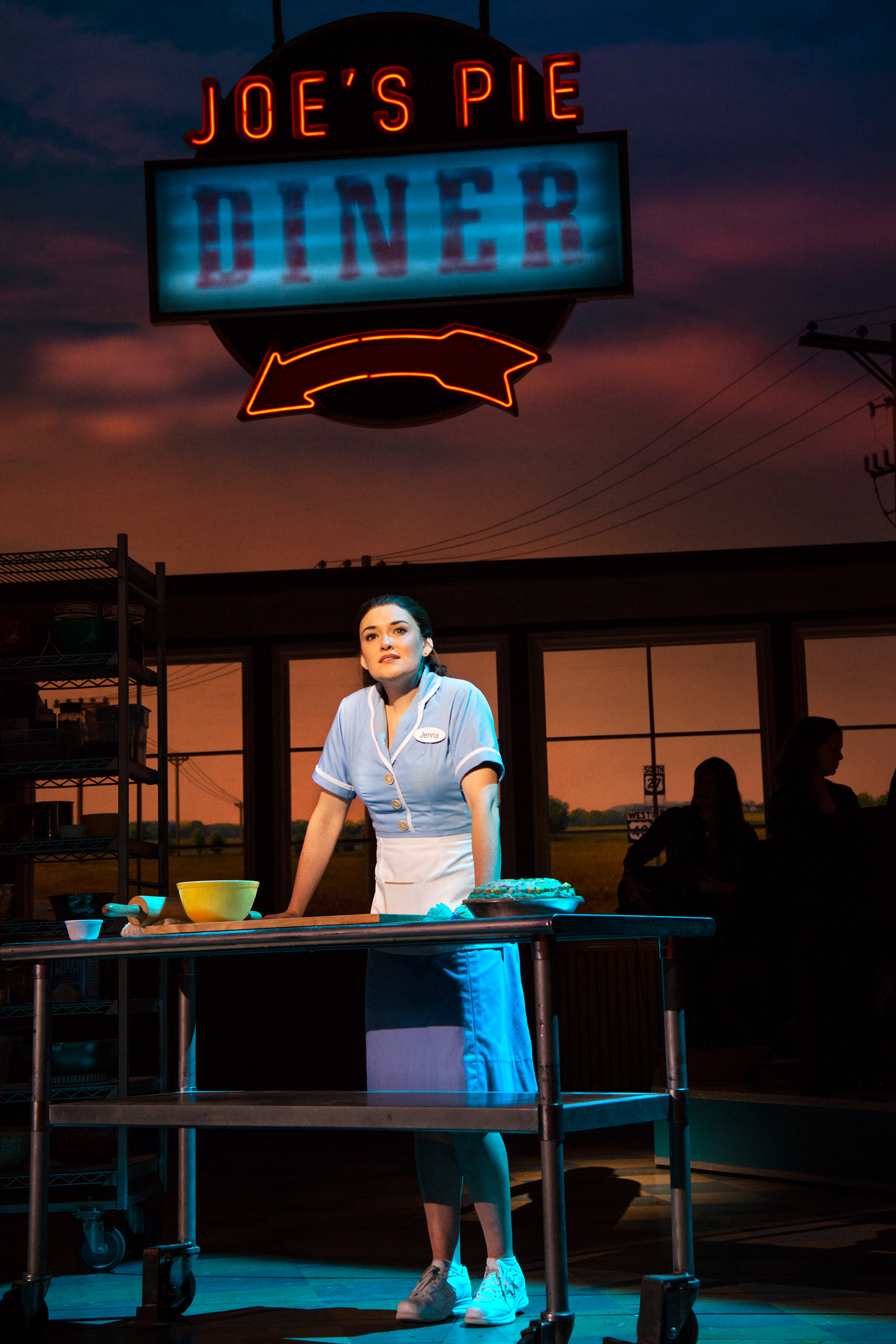 Christine Dwyer in Waitress Photo by Philicia Endelman