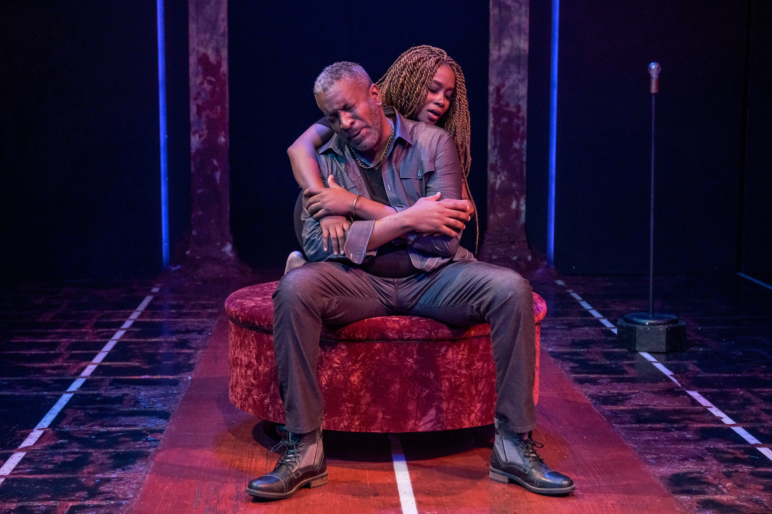 Roderick Sanford and CHANEL in The Ballad of Klook and Vinette at ZACH Theatre. Photos by Kirk Tuck