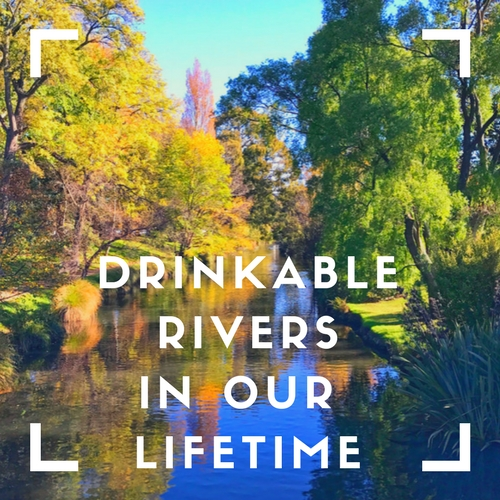 When? - When you embrace a moonshot vision, patience and timing are everything. We launched the Drinkable Rivers meme launched in August last year, and now it has a timeframe.