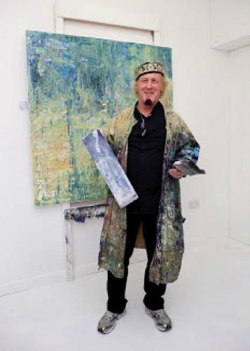 Allan Storer in the studio