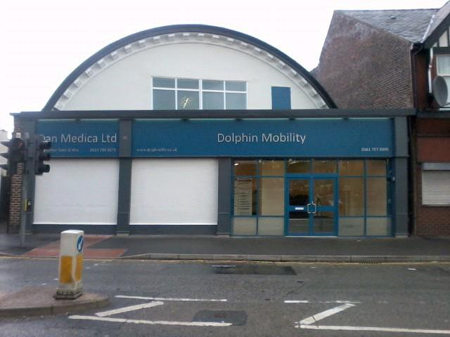 Dolphin Mobility Manchester Showroom in Salford