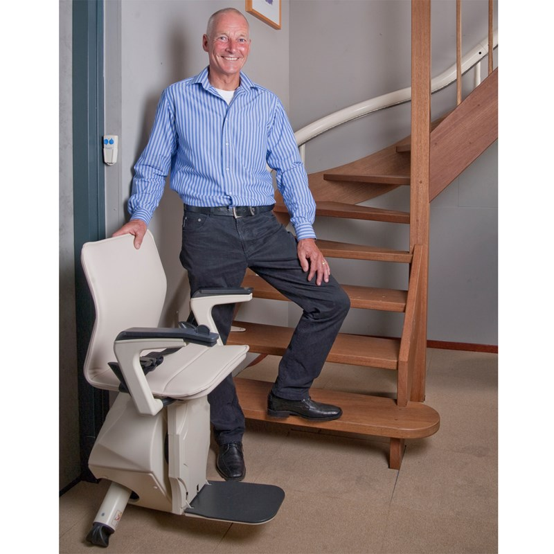 Handicare Curved Stairlift