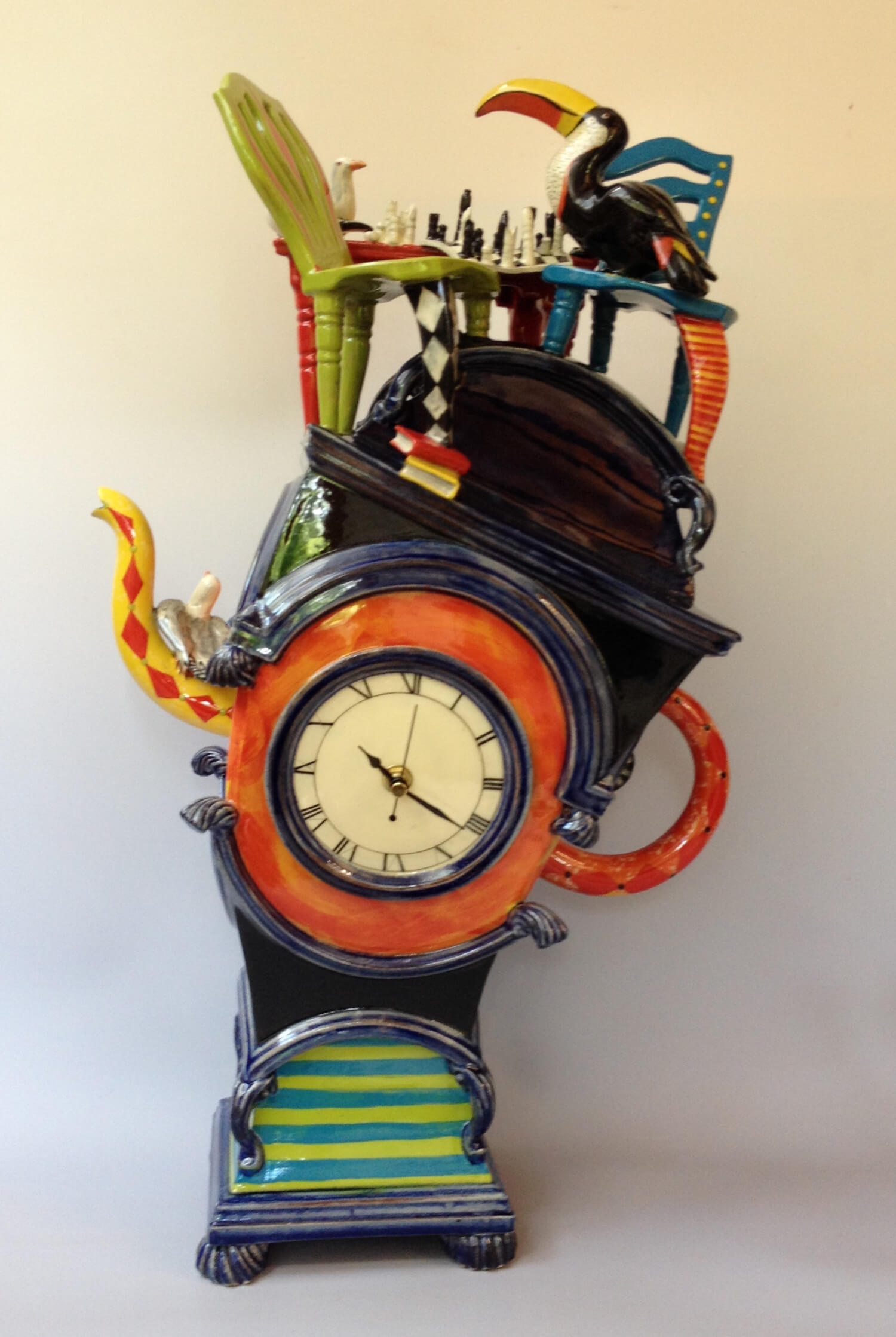 Leaning Teapot clock