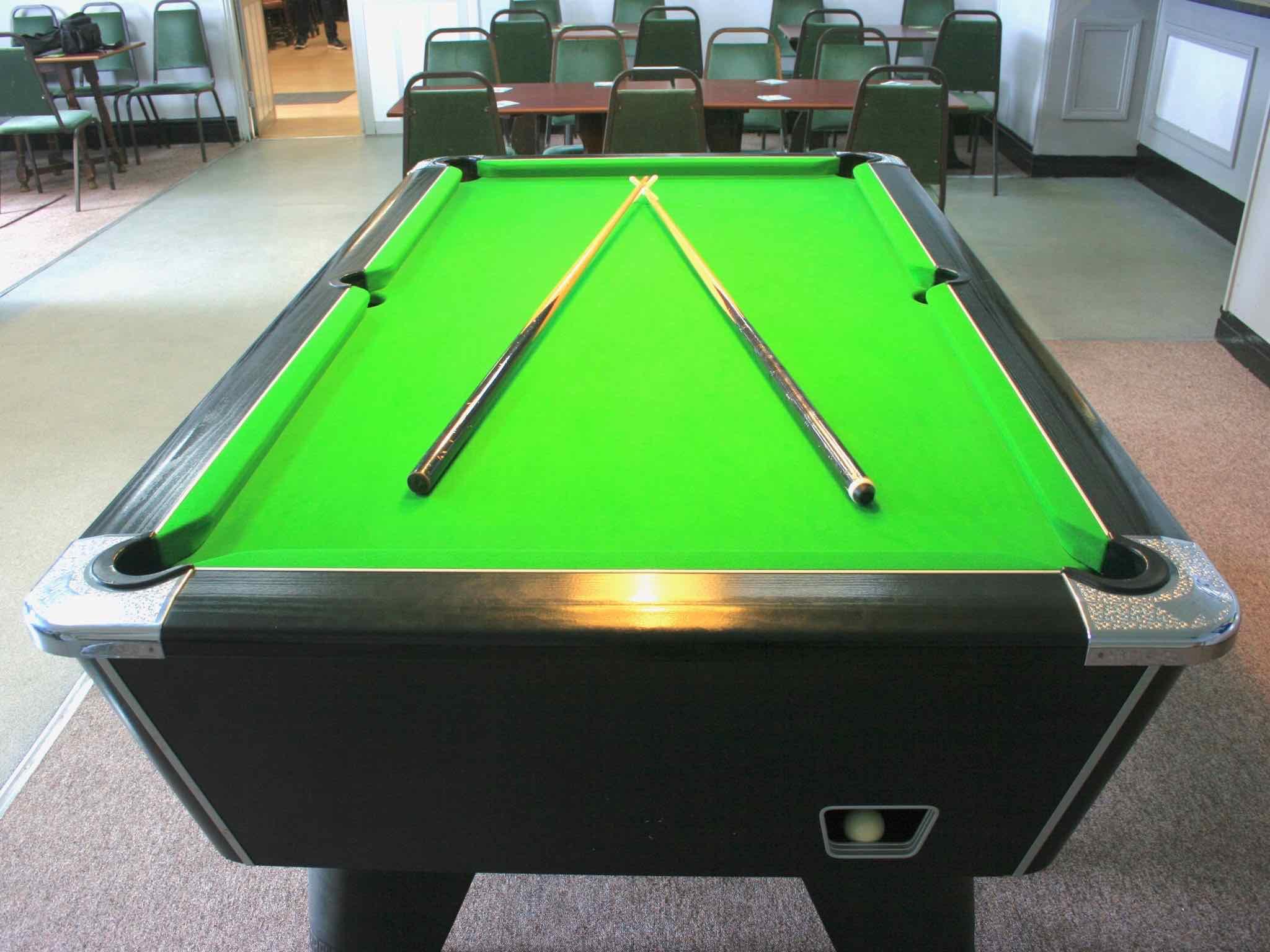 Pool Table at Gwersyllt Sports & Social Club