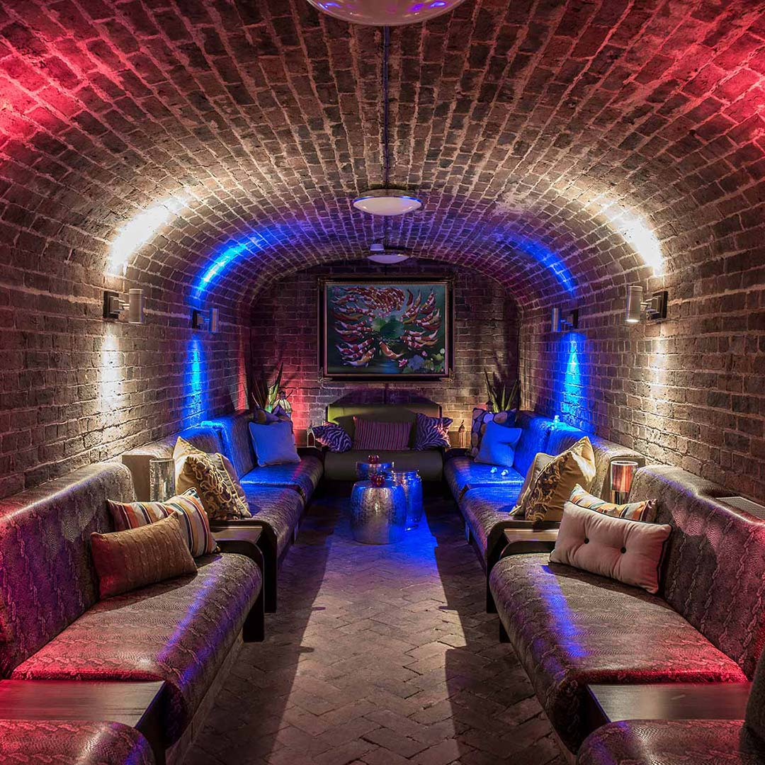 CELLARZ - ______LOCATED IN BRICK-VAULTED CELLARS BENEATH THE BEAUTIFUL SPRING GROVE HOUSE, ENTERING CELLARZ IS A WORLD AWAY FROM LIFE ABOVE.