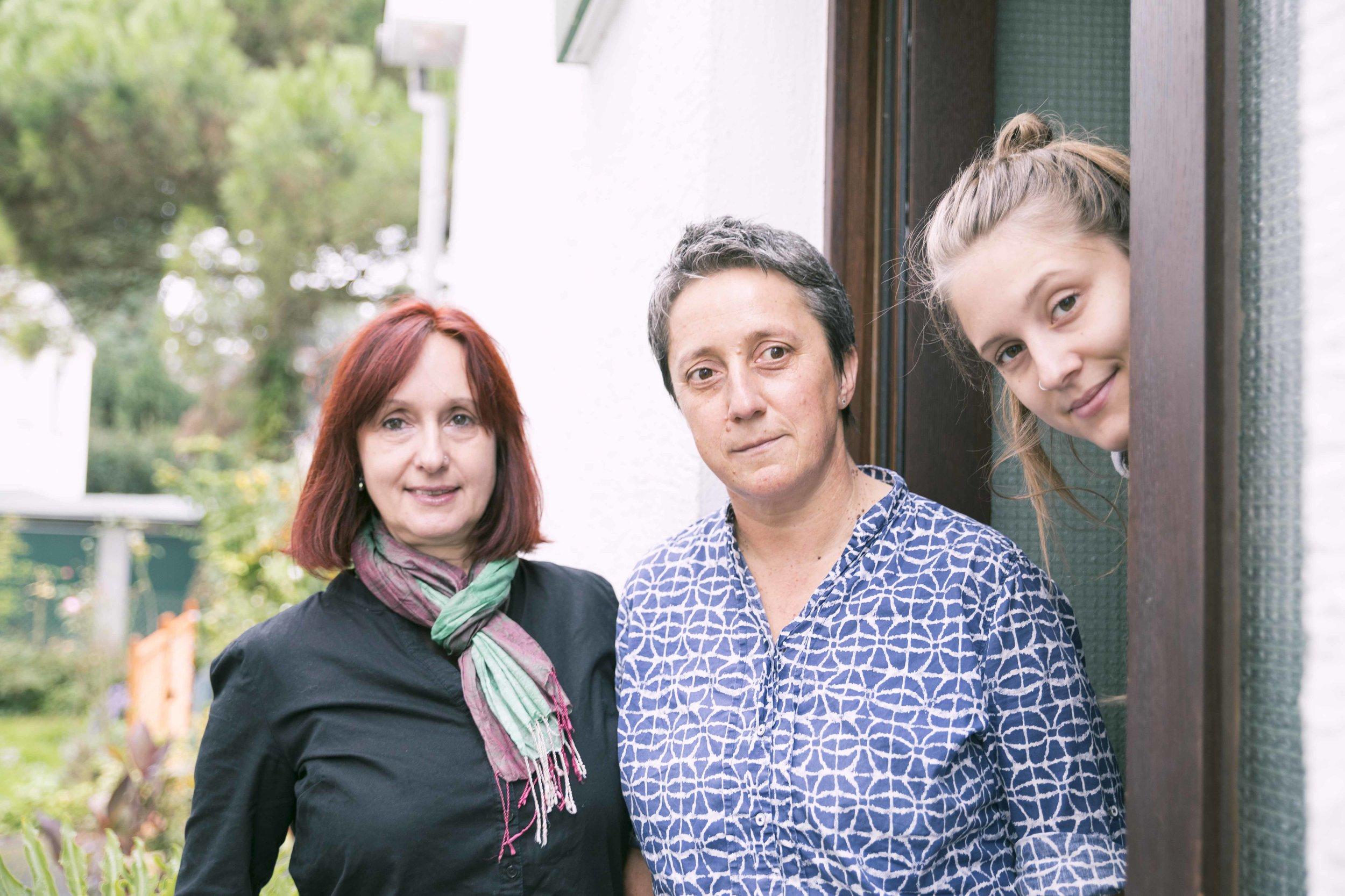 Lena, Ida und Alicia