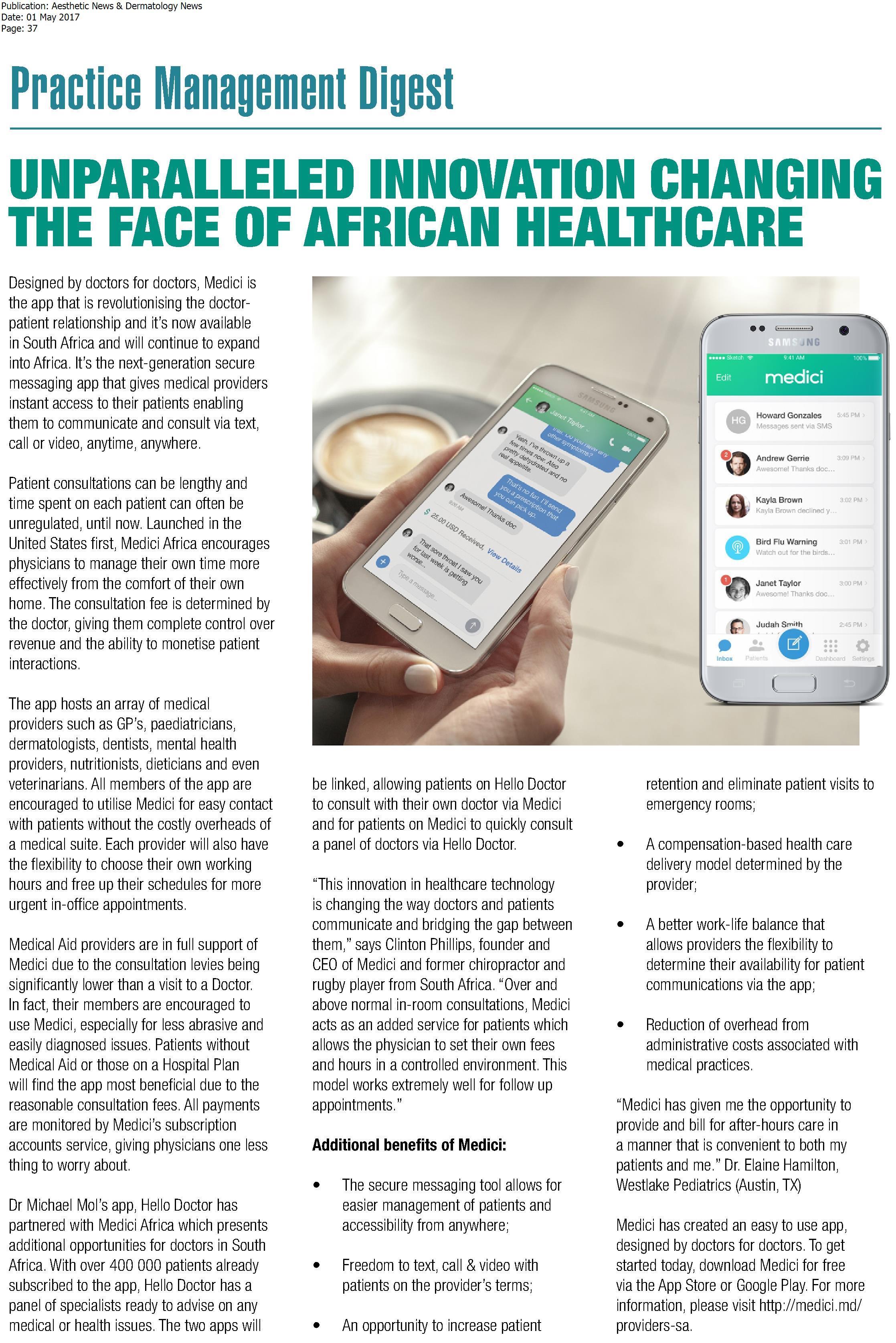 Aethetic News & Dermatology News -