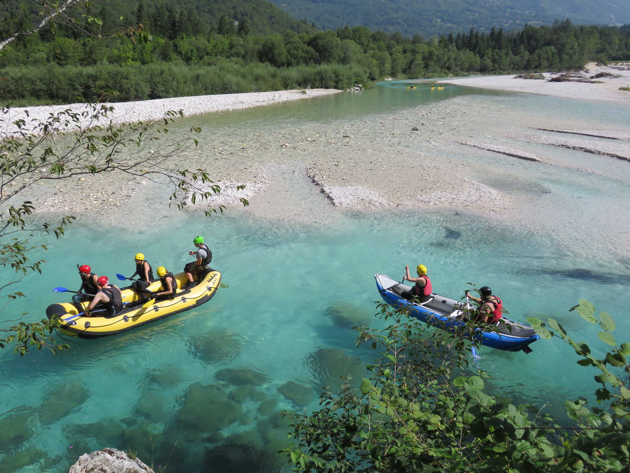 We love white water rafting, but we'd rather do it on our terms, and not be forced into it.