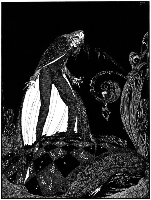 Illustration for 'Tales Of Mistery And Imagination' by Edgar Allan Poe, Harry Clarke, 1919