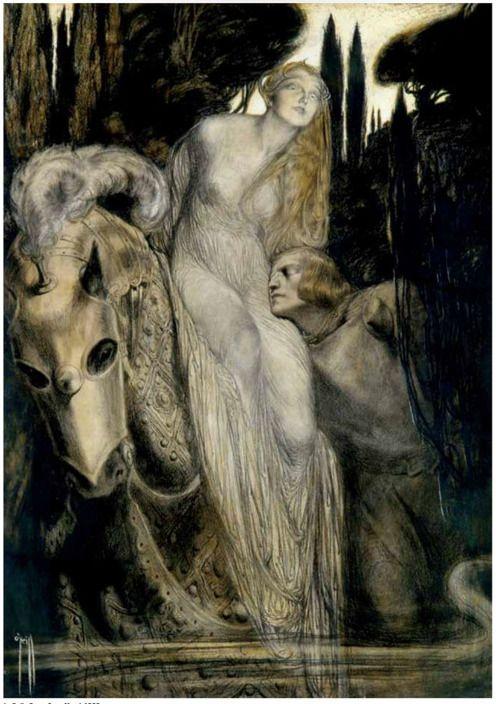 La Belle Dame Sans Merci, Rose Cecil O'Neill, 1905
