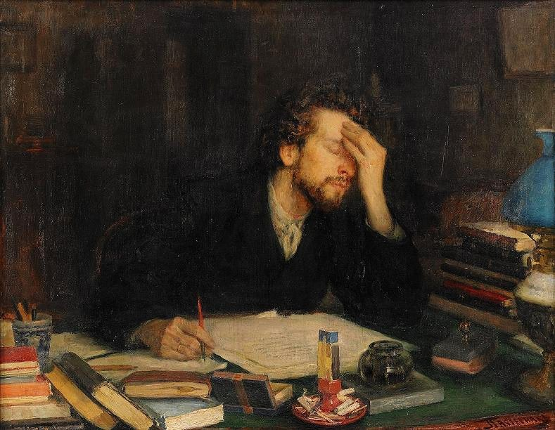 The Passion Of Creation, Leonid Osipovich Pasternak, 1892