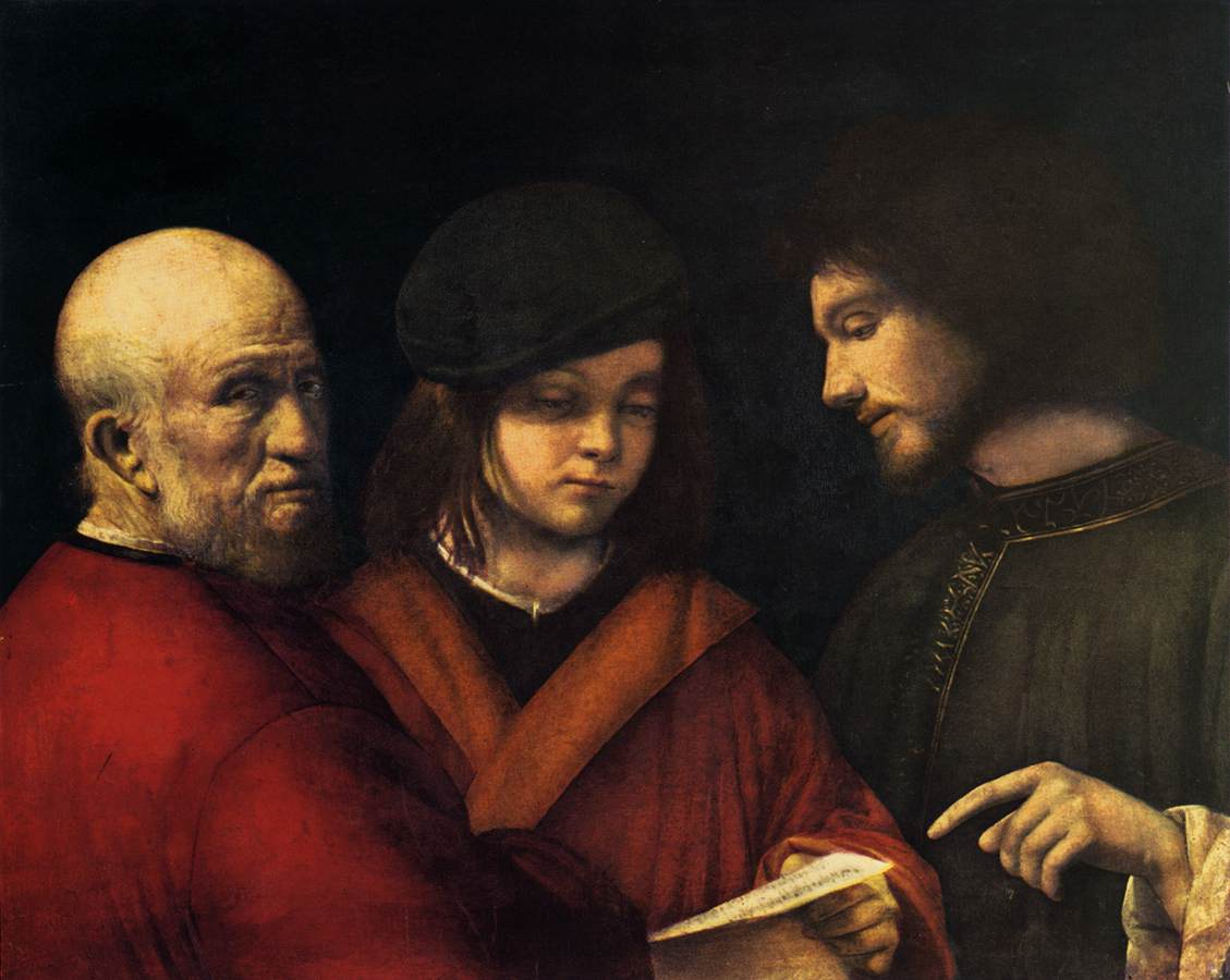 The Three Ages Of Man, Titian, 1511 - 1512