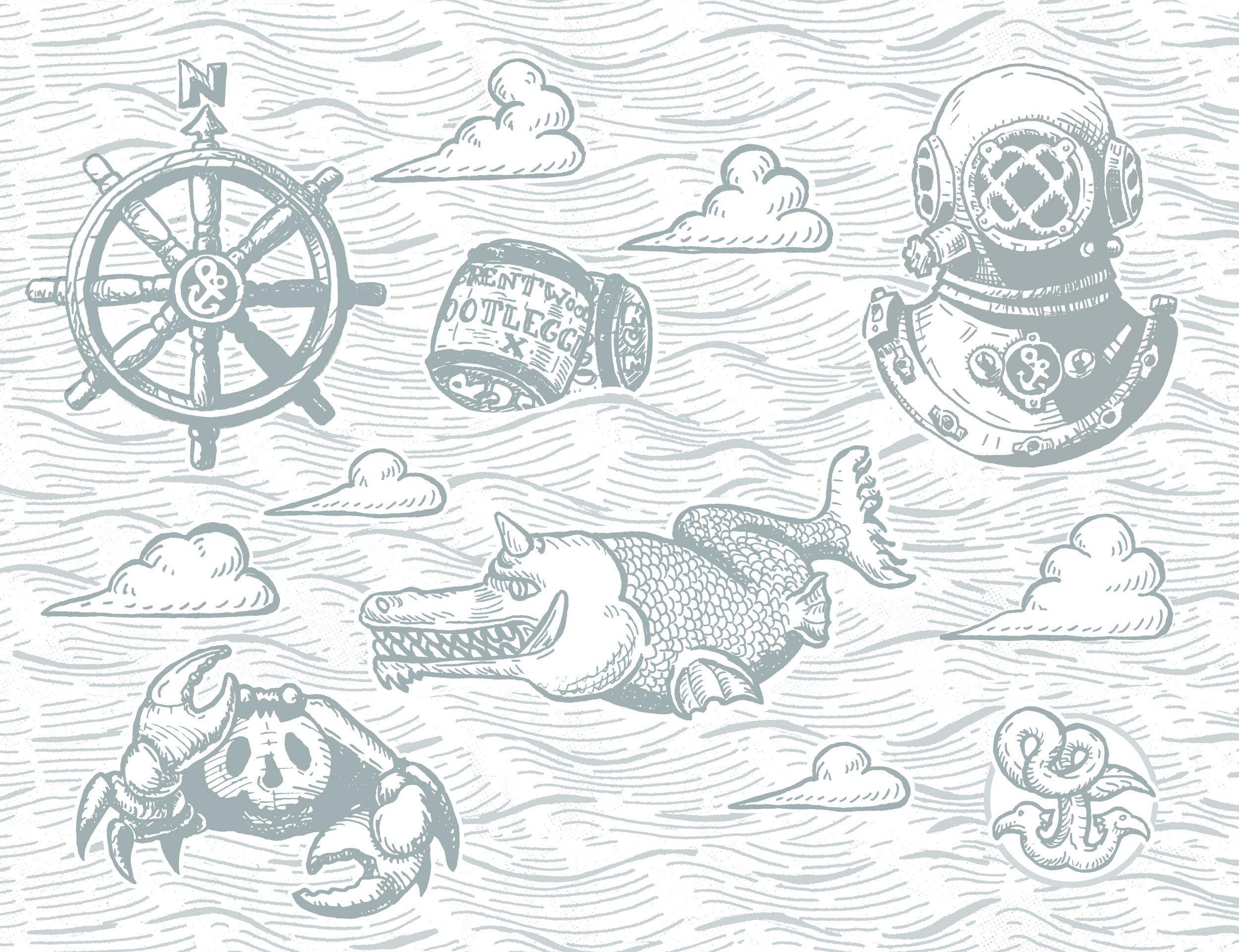 Starboard & Port Illustrations