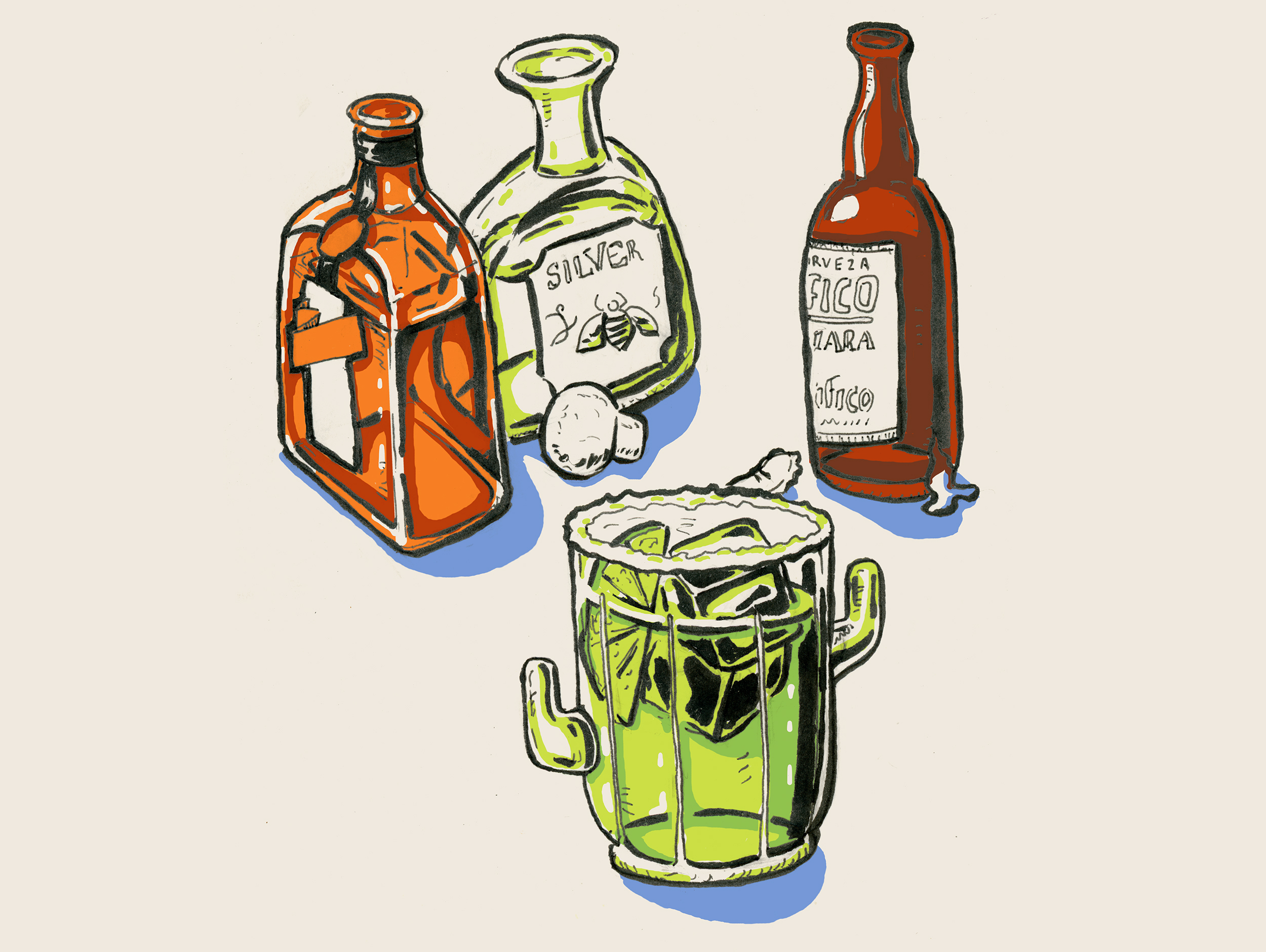 Margarita Illustration