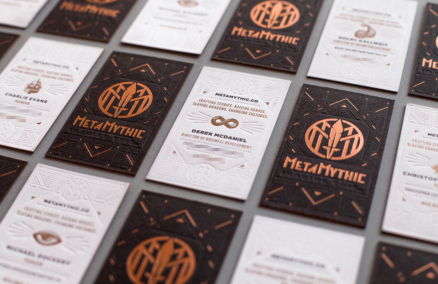 MetaMythic Business Cards
