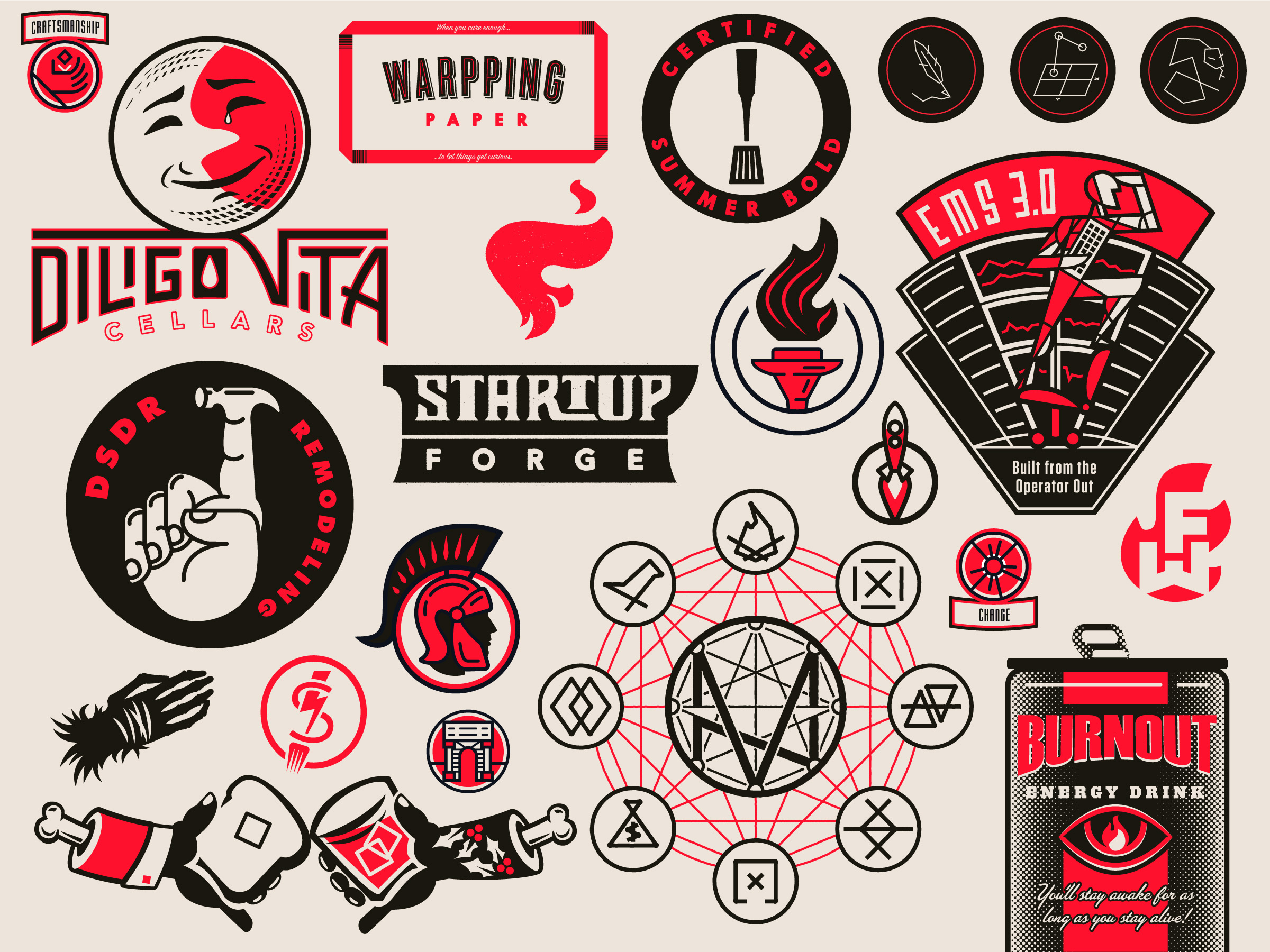 Logos Brandmarks Icons