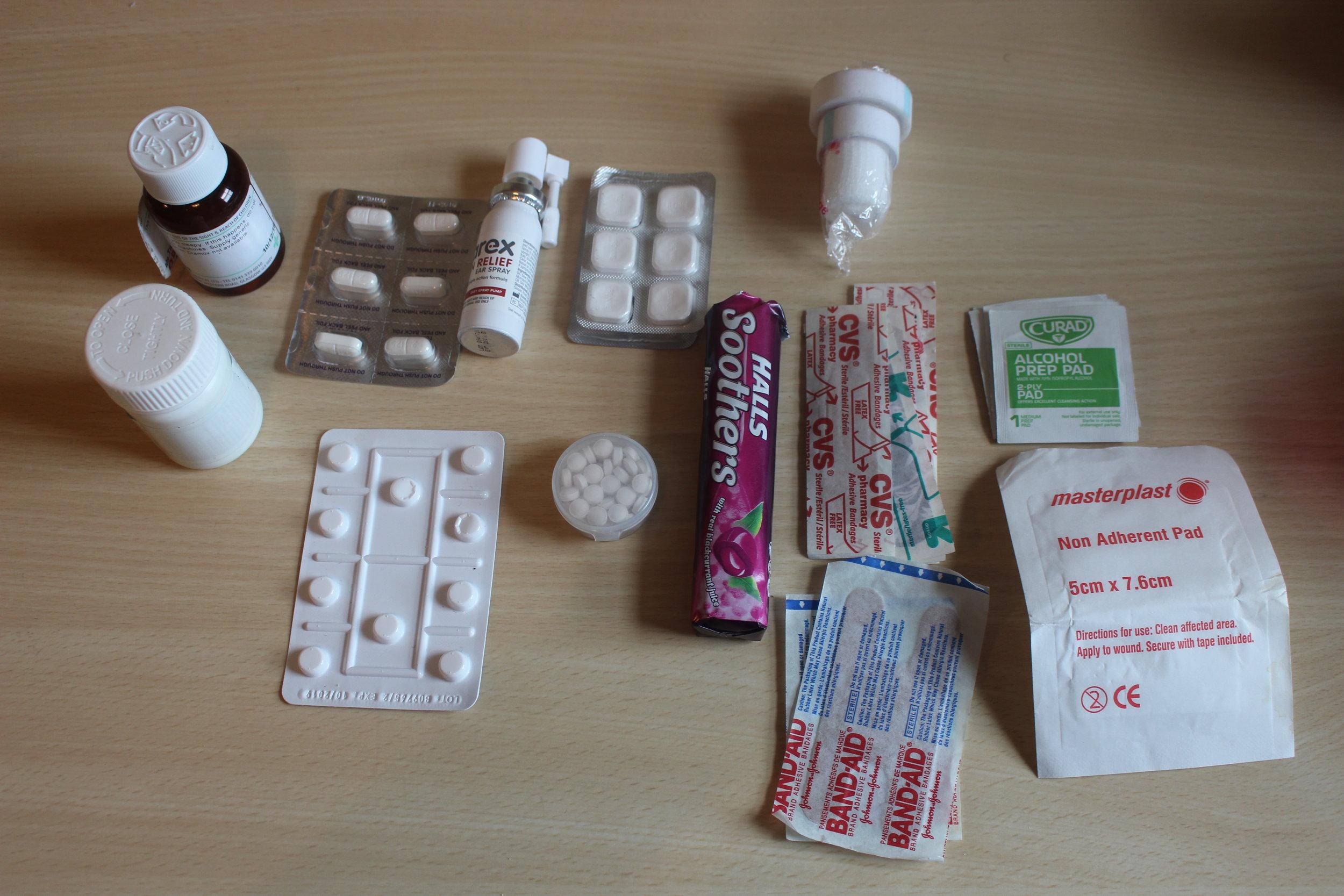 Med-Kit packing list