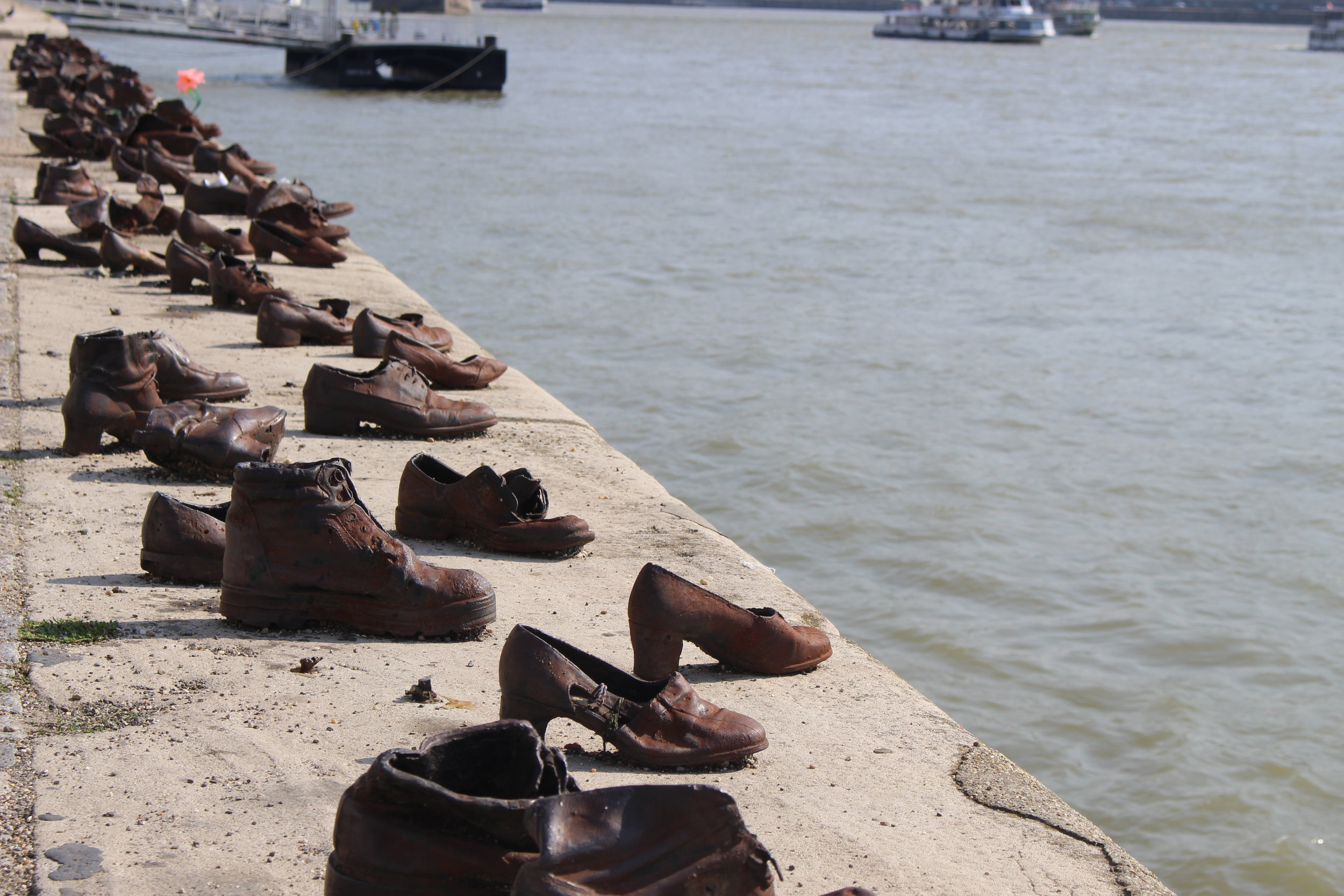 Shoes on the Danube (Budapest, Hungary)