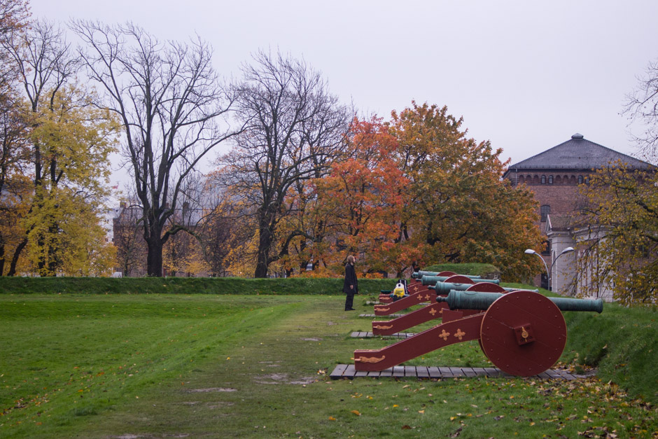 Akershus Fortress in the Fall