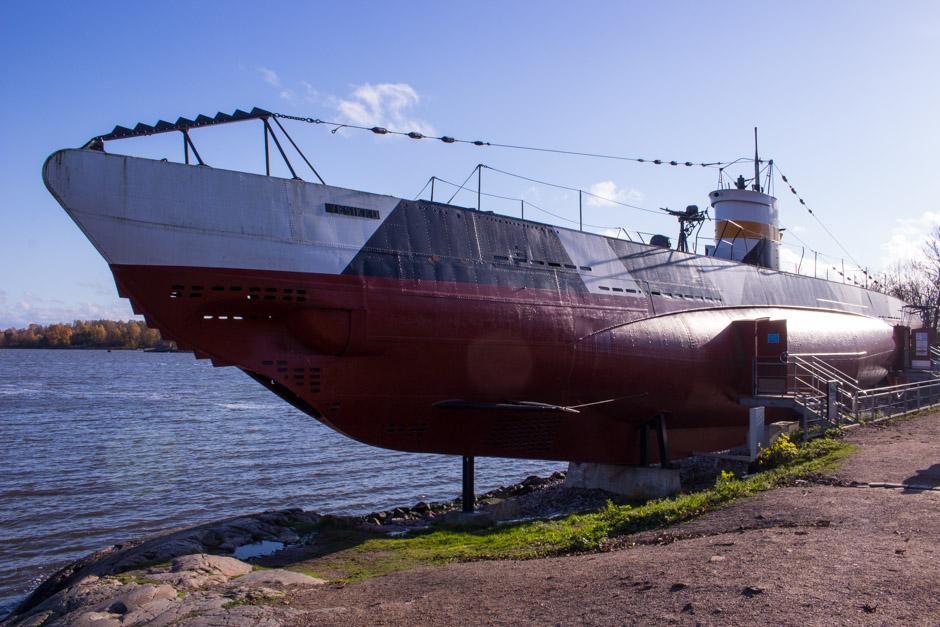 Vesikko Submarine, Suomenlinna