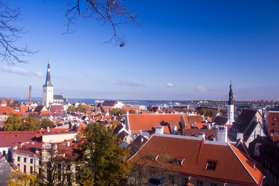 View point in Tallinn, Estonia