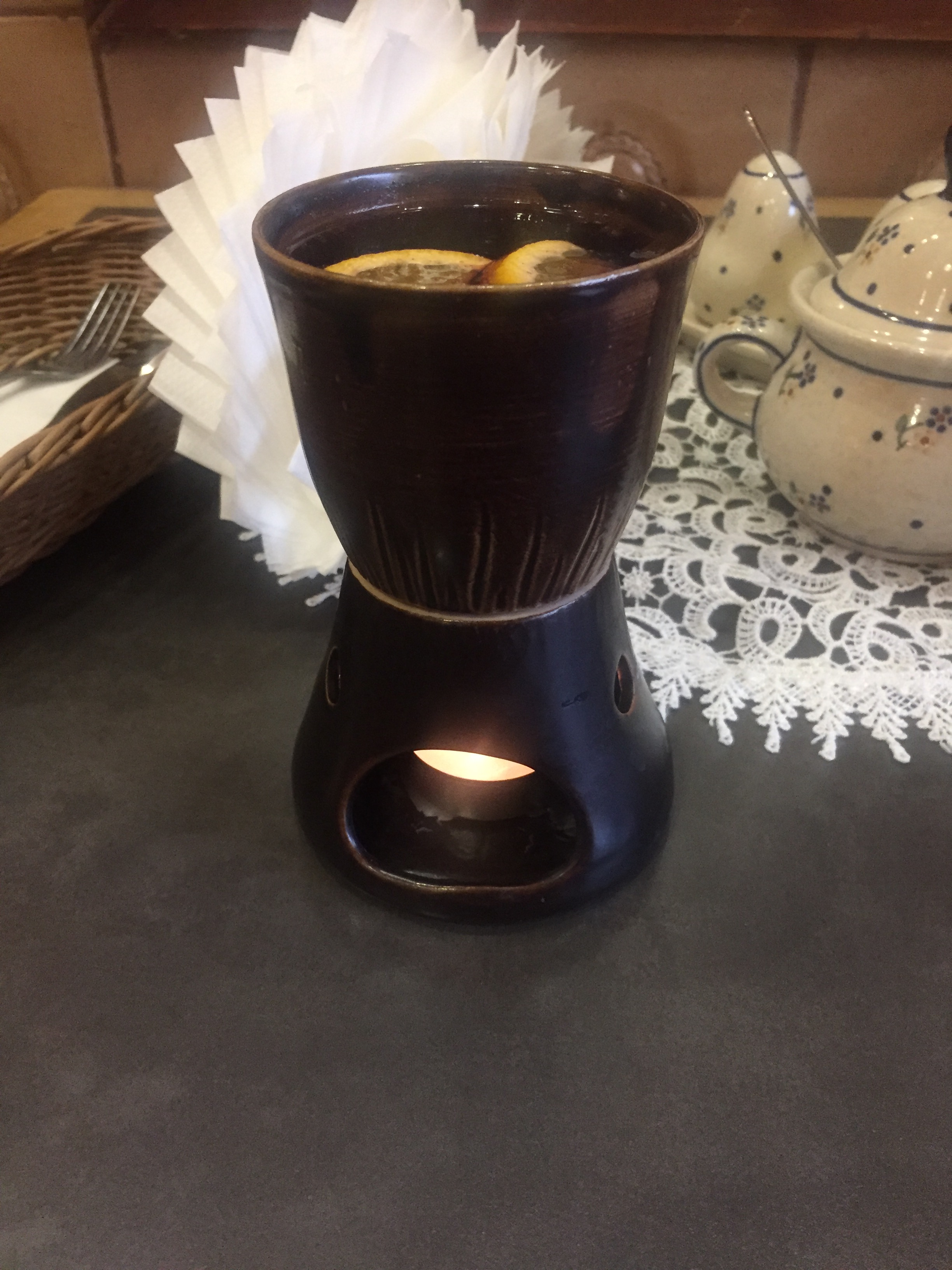 Mulled Wine in Warsaw