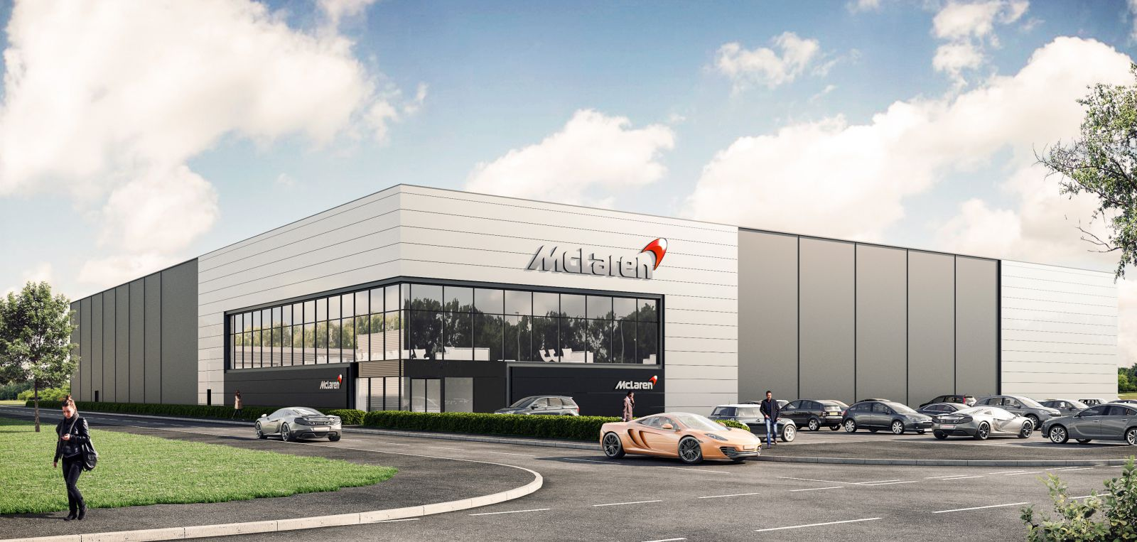 McLaren Technology Centre - Smart i-Glass Project