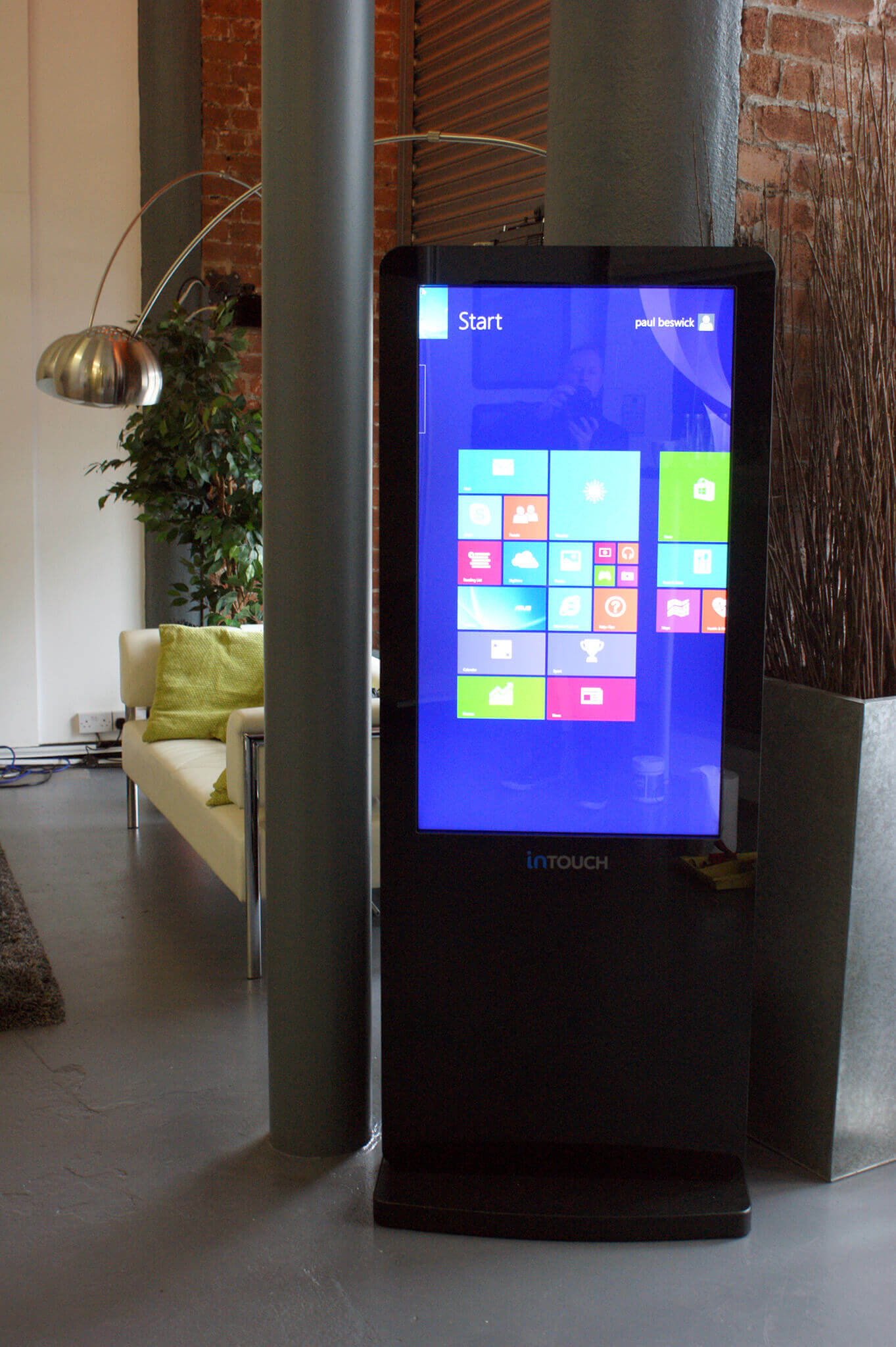Download our Touch Kiosks spec sheet -