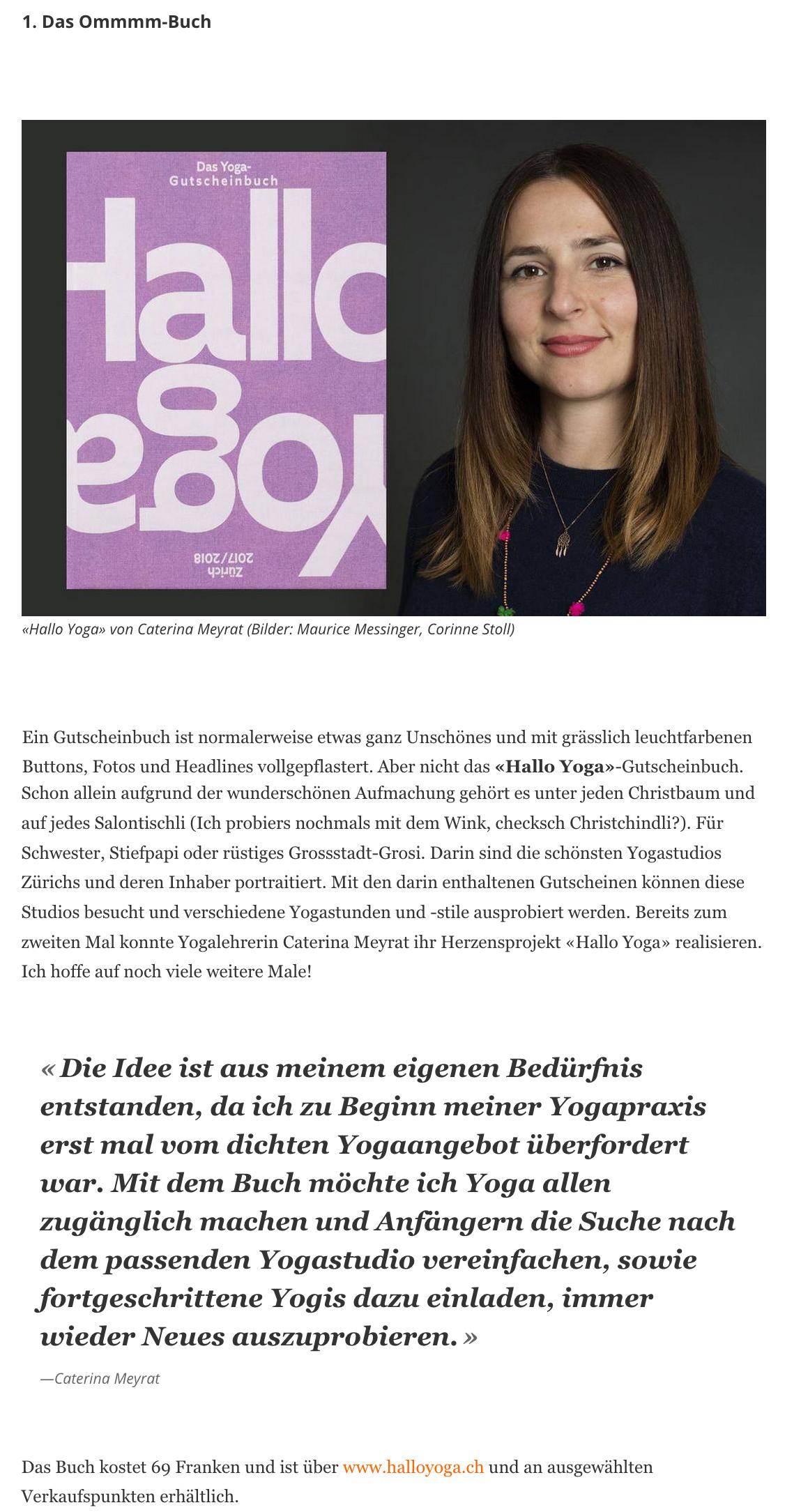 Migrosmagazin.ch, 30.11.2017