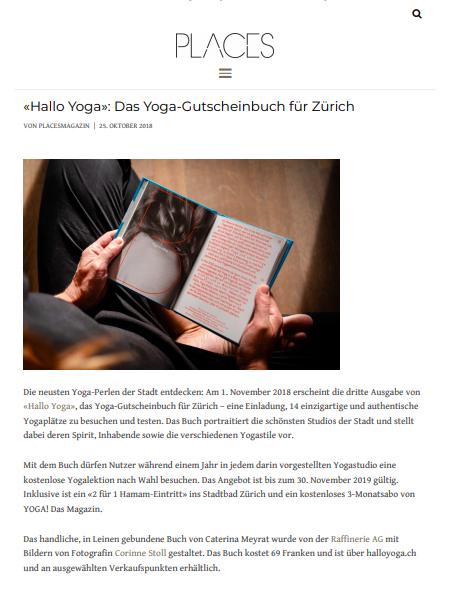 Places Magazin, 25. Oktober 2018
