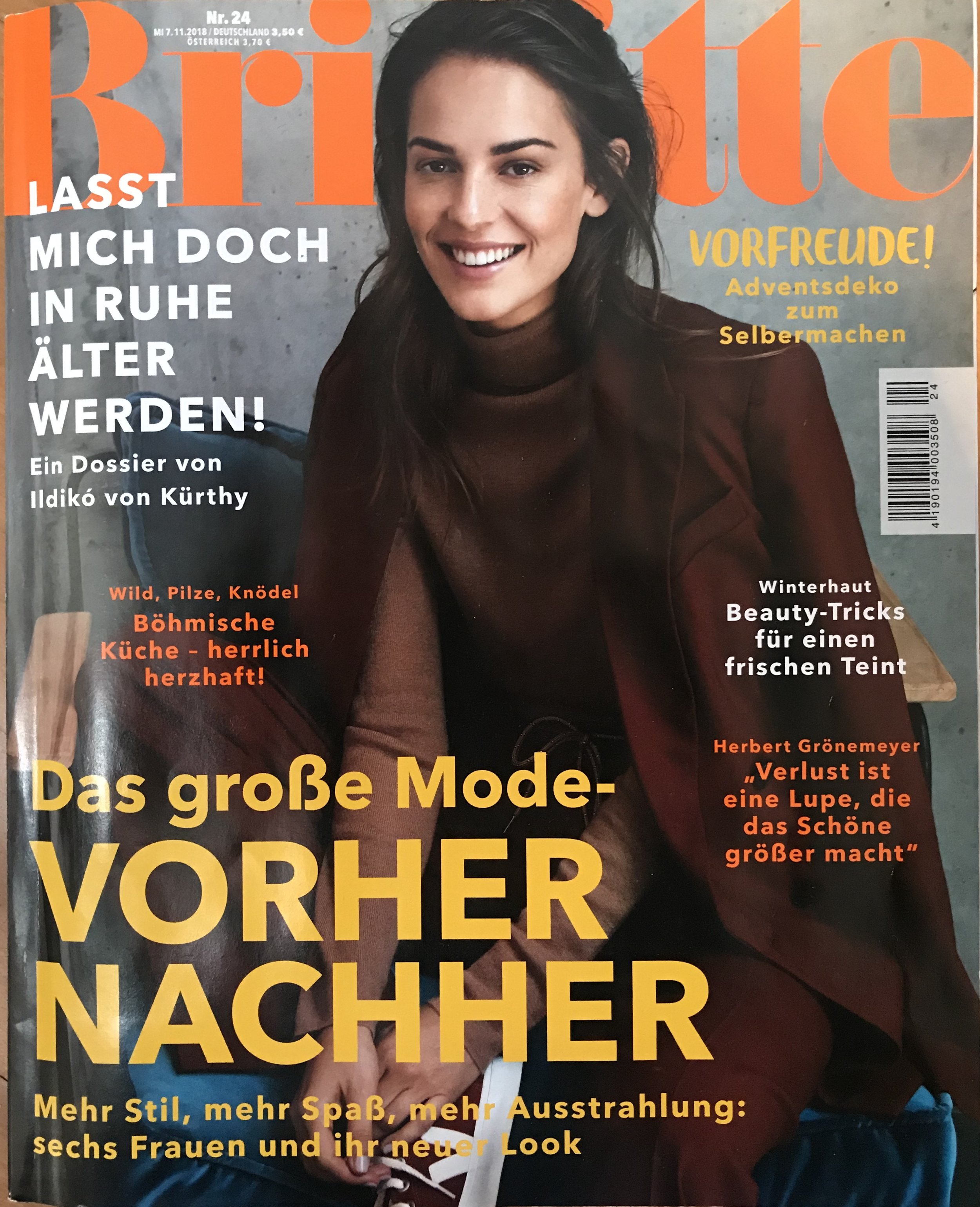 Brigitte Nr 24, November 2018