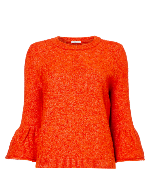 Boucle Flare Sleeve Jumper, £13.50 (was £18)