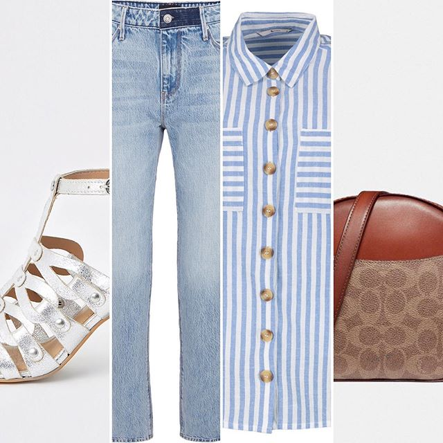 I'm actually wearing gingham today but stripes are a perennial favourite! Jeans, a stripe shirt and metallic shoes are a winning combo for any - and every - season. . . Tap stories for more details... . . #personalstylistsurrey #personalshoppingservice #stripeshirtlove #jeanslover #everydaystyling #whatshouldiwear #styleinspirations