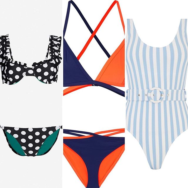 I'm not looking out the window, instead I'm daydreaming of sunny beaches and sun-kissed skin. . . Swipe to see a few swimwear faves I've found recently...(tap photo for brand) . . #sunshinedreaming #Augustreally? #takemetothebeachplease #swimwear #swimsuitsandbikinis #personalshoppingservice #personalstylistsurrey