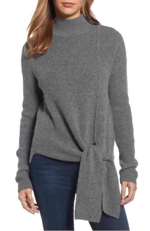 Halogen Tie Hem Sweater $79