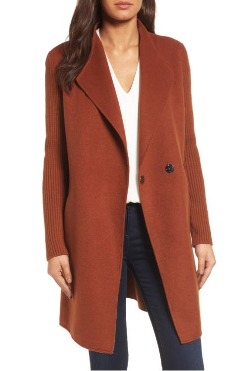 Kenneth Cole New York Double Face Coat $198