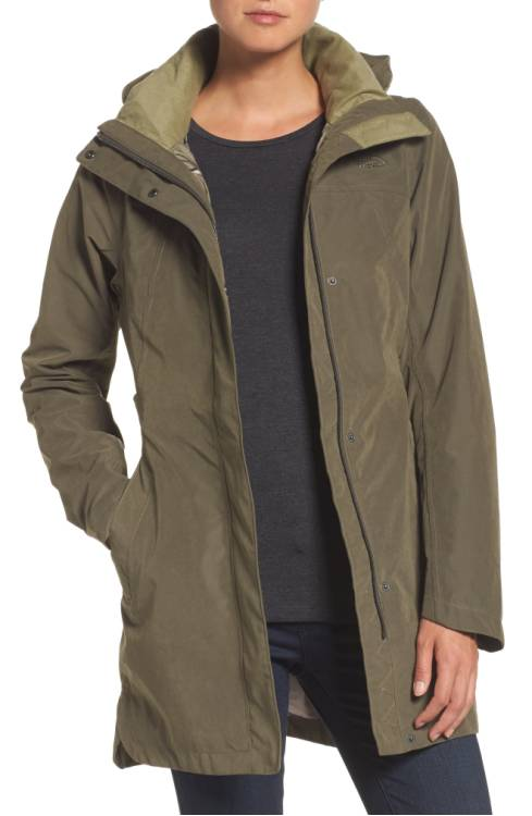 The North Face Laney II Trench Raincoat $180