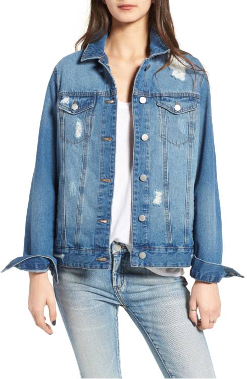 BP Denim Trucker Jacket $69