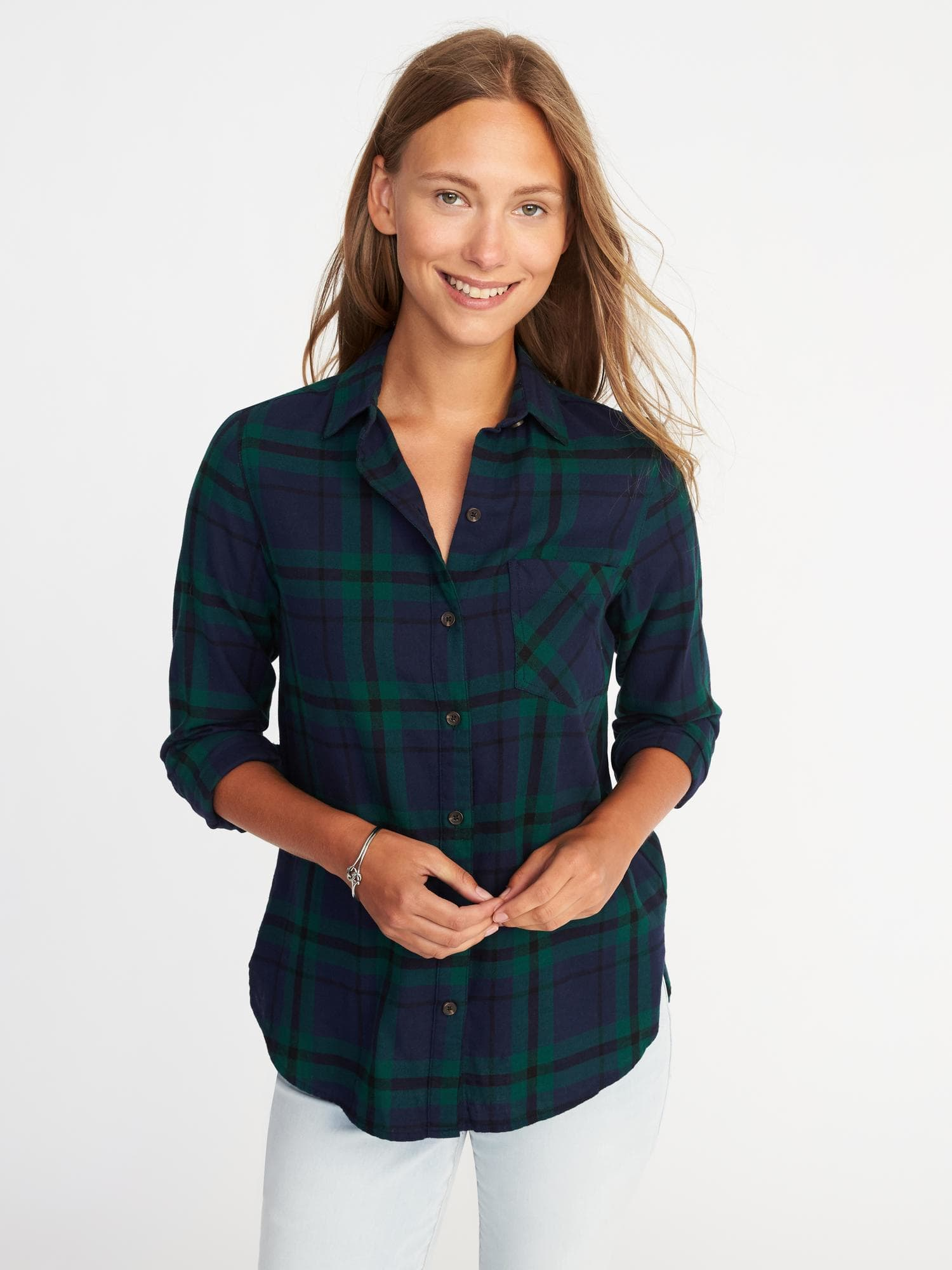 Old Navy Classic Flannel Shirt $29.99