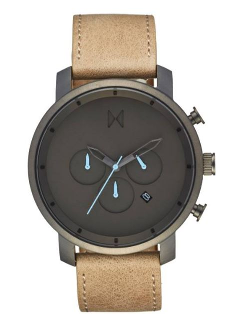 MVMT Chronograph Leather Strap Watch $135