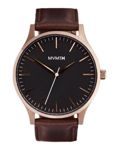 MVMT Leather Strap Watch $120