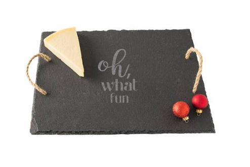 Cathy's Concepts Oh What Fun Slate Serving Board $58