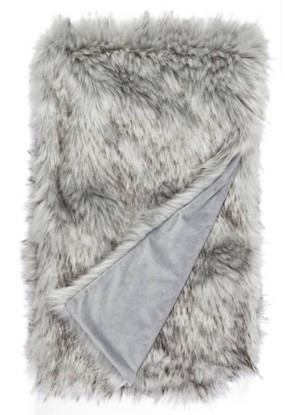 Nordstrom Fox Faux Fur Throw Blanket $149