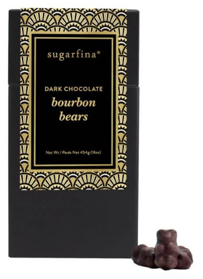 SUGARFINA Dark Chocolate Bourbon Bears $28