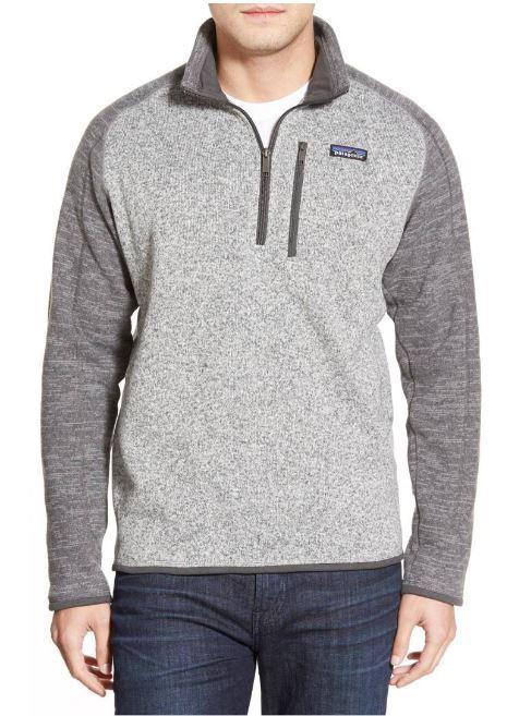 Patagonia 'Better Sweater' Quarter Zip Pullover $99