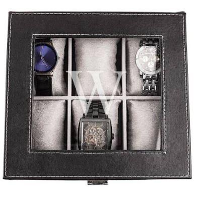 CATHY'S CONCEPTS Monogram Watch Box $63